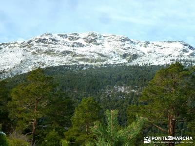 Cabeza Mediana y Camino de la Angostura; viajes senderismo españa; viajes senderismo madrid
